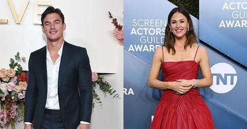 Tyler Cameron And Jennifer Garner On Red Carpets