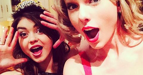 Taylor swift sarah hyland