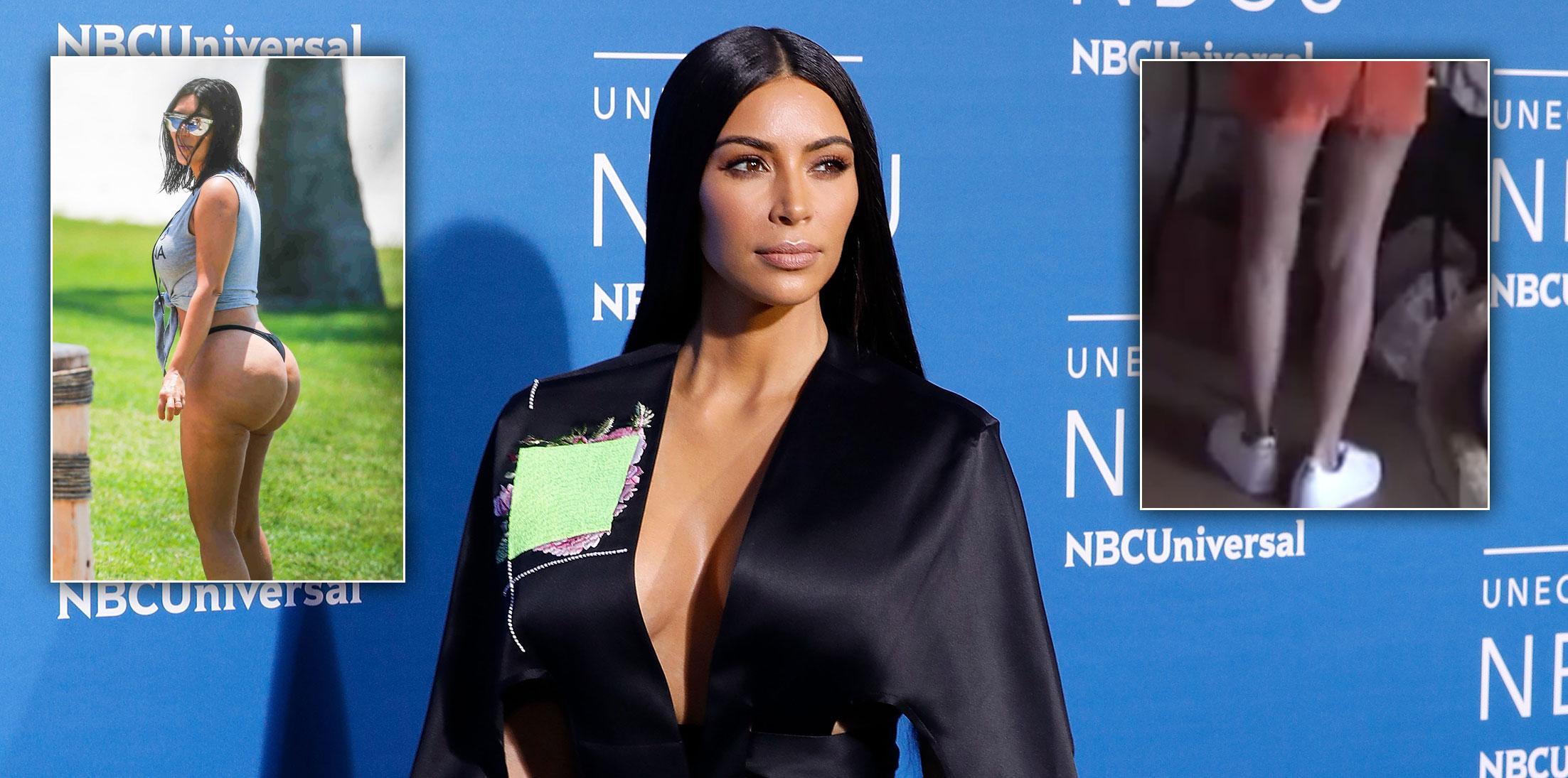 Is kim kardashians butt fake ray j tape surgery questions