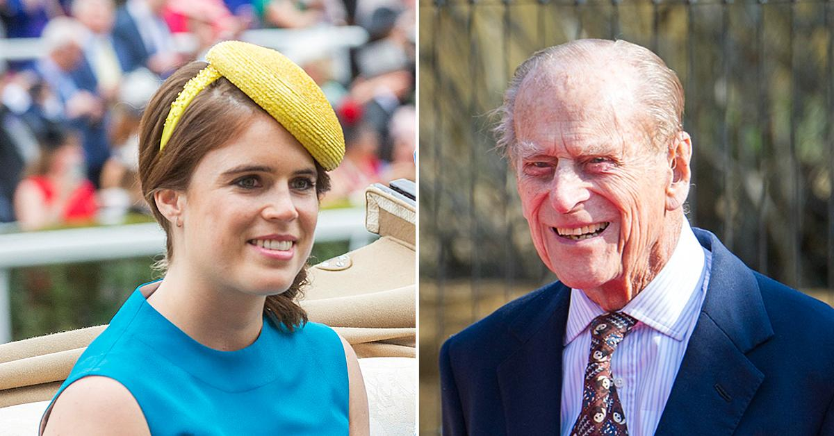 princess eugenie shares tribute late grandpa prince philip okf