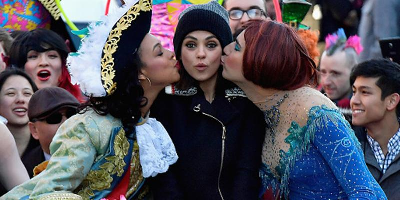 Mila kunis woman of the year hasty pudding pics