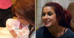 teen mom  chelsea houska deboer birth baby girl photo pf