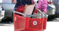 Katie Holmes takes Suri Christmas shopping at Target