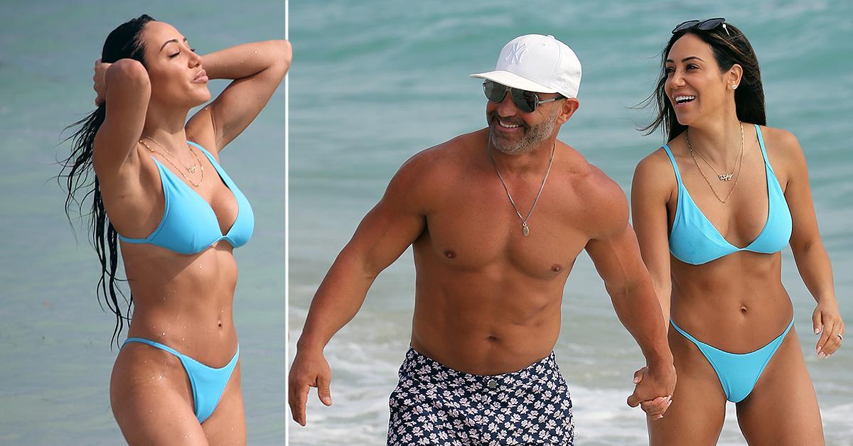 What Winter Storm? 'RHONJ' Stars Melissa & Joe Gorga Sizzle On Miami Beach Despite 'Struggling' In Their Marriage
