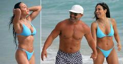 rhonj melissa joe gorga sizzle beach bikini in miami pf