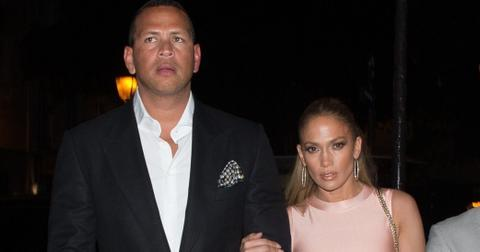 *EXCLUSIVE* Jennifer Lopez and Alex Rodriguez arrive for a date night at La Societe