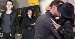 Courteney Cox Johnny McDaid Engagement Back On Kissing