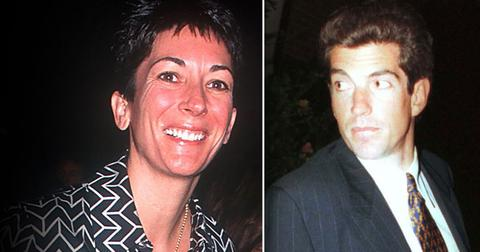Ghislaine Maxwell Sexual Hookup With John F. Kennedy Jr.