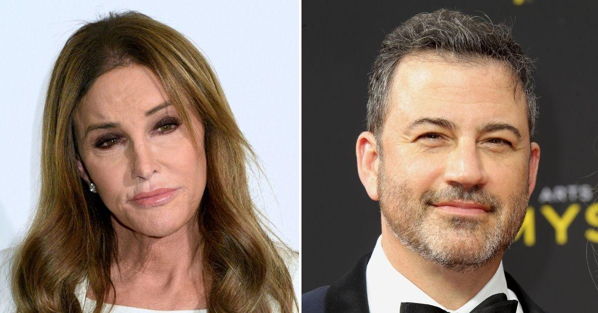 caitlyn jenner calls out jimmy kimmel donald trump in a wig comment
