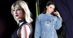 Kendall jenner taylor swift feud