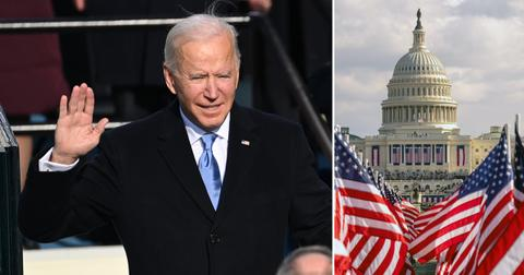 inauguration joe biden kamala harris photos from capitol live update pf