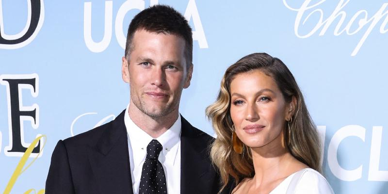 Tom Brady and Gisele Bündchen at the 2019 Hollywood For Science Gala