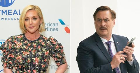 jane krakowski mypillow ceo mike lindell deny secret romance rumors