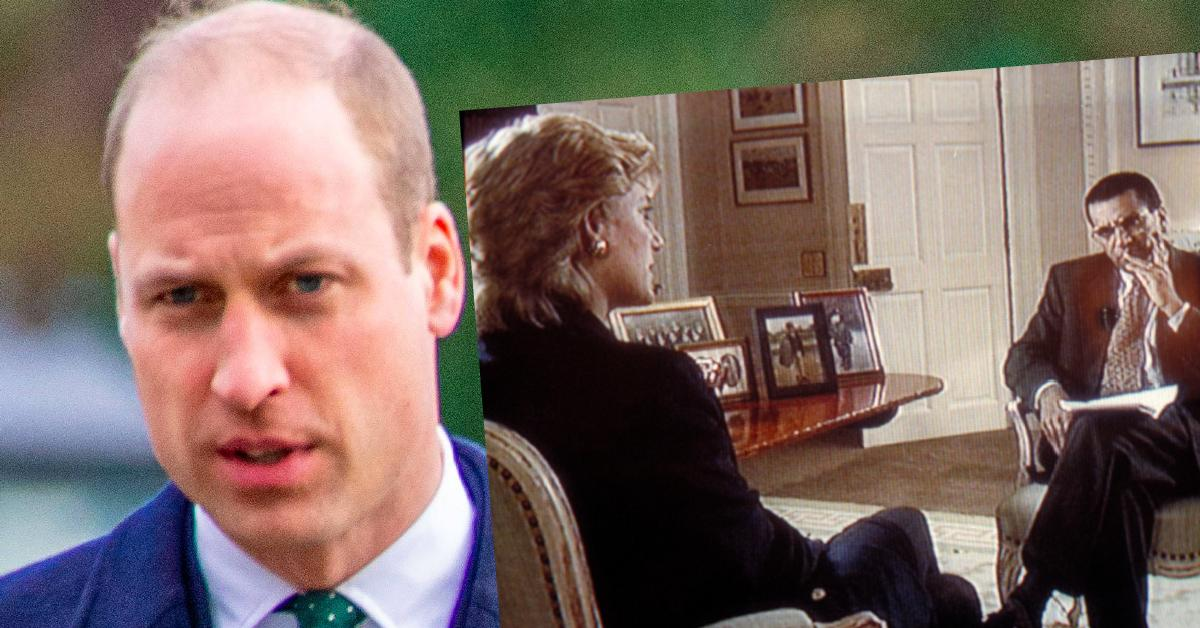 Princess Diana's Ex Claims Prince William Warned His Mother 'Martin Bashir Isn't A Good Person'