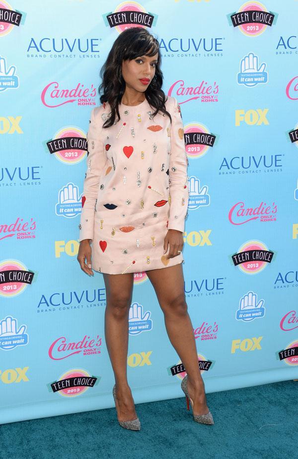 Kerry Washington Teen Choice Awards 2013