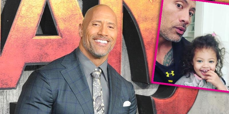 dwayne rock johnson daughter hospitalization video pp