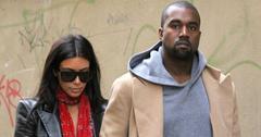 Kim Kardashian West and Kanye West honeymoon Prague 2014