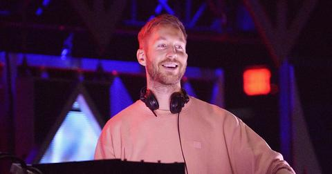 Calvin harris DJing post pic