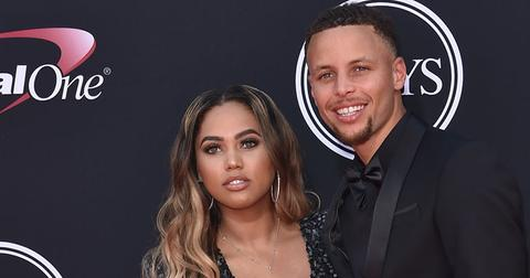 Ayesha curry steph and canon pic