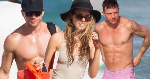 Ryan Phillippe Shirtless Paulina Slagter Engaged Beach Photos