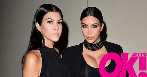 Kourtney kardashian kim feud
