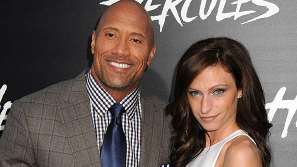 The rock daughter name