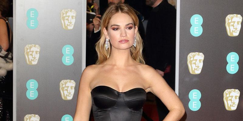 Lily james not in downton abbey film pp