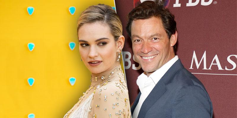 Lily James Spotted Kissing Married Dominic West In Rome: Photos