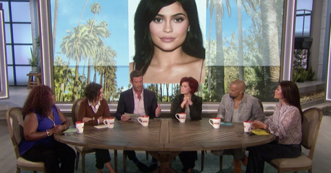 The Talk Hosts Talk About Kylie Jenner Lip Enhancement Plastic Surgery hero