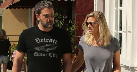 *EXCLUSIVE* Ben Affleck and Lindsay Shookus enjoy their Saturday morning together arm in arm