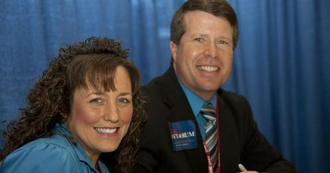 Jim Bob And Michelle Duggar At Event Home Raided