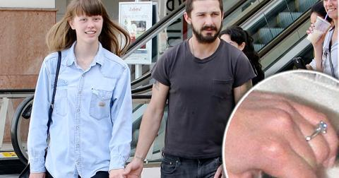 Shia labeouf mia goth engaged 10