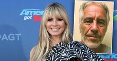 Heidi Klum Denies Connection Sex Offender Jeffrey Epstein Private Jet