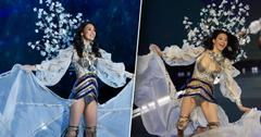 Ming Xi Apoligzed Falling Victroria's Secret Fashion Show