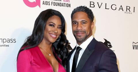 Kenya Moore And Marc Daly On Red Carpet