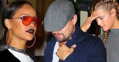 Rihanna leonardo dicaprio reunite dinner nina agdal nyc hero