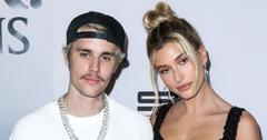 hailey baldwin justin bieber red carpet