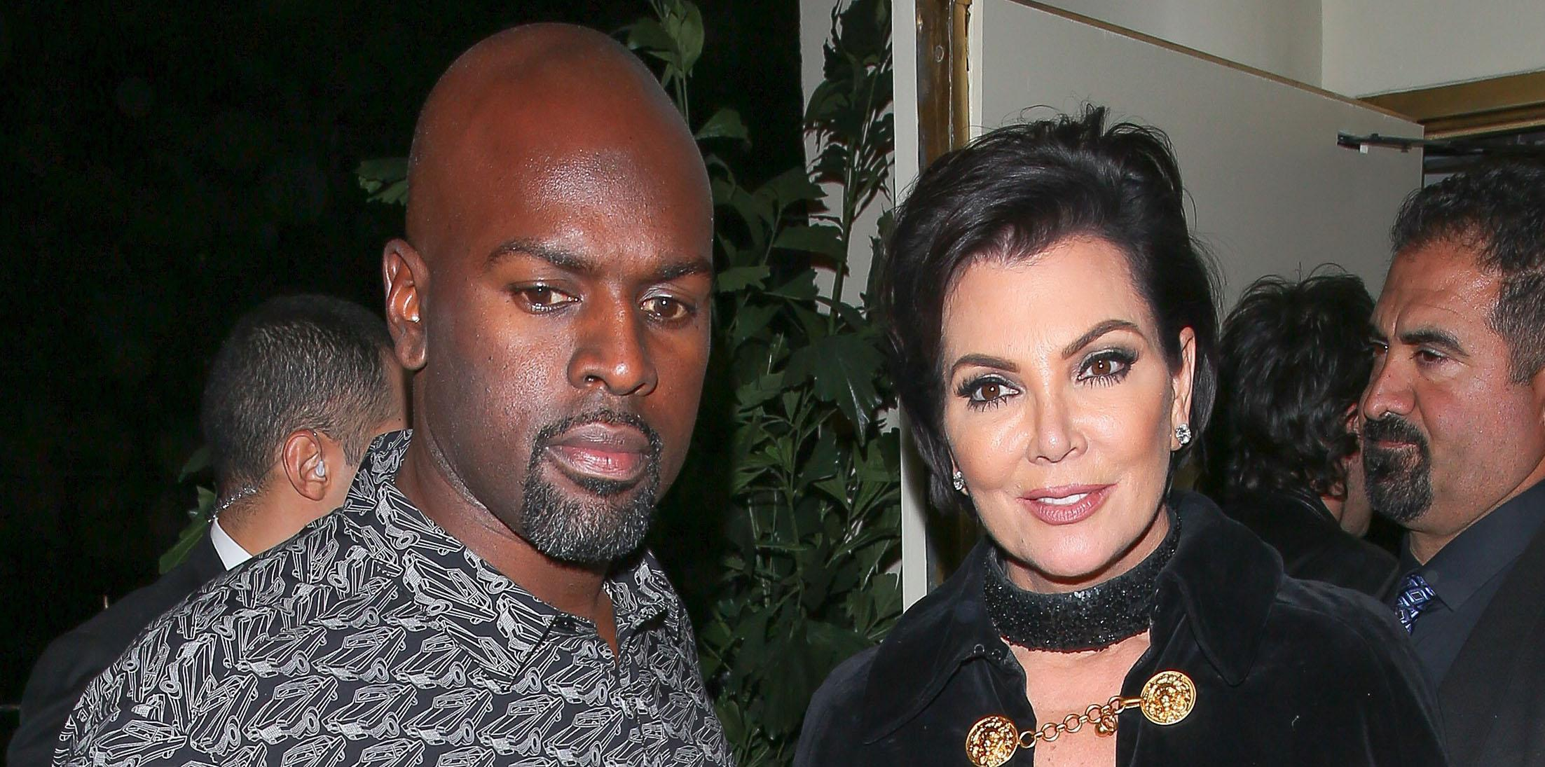 Corey Gamble and Kris Jenner wrap up a successful night at Kendall's 21st Birthday