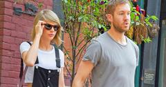 Taylor swift calvin harris holding hands