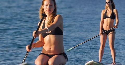 Olivia Wilde Bikini Wedgie Hawaii