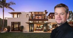 matt damon put house on market pp