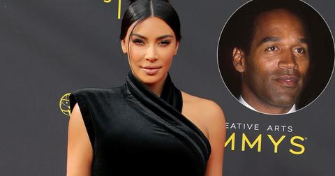 Kim Kardashian Last Encounter O.J. Simpson
