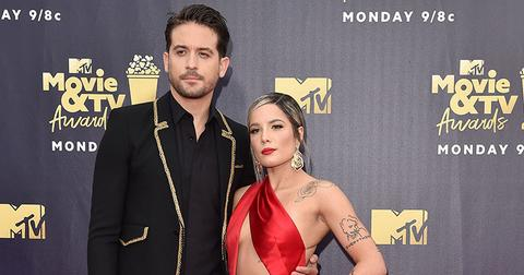 Halsey g eazy back together reports main