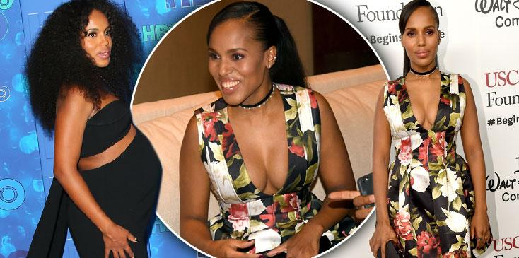 kerry washington post baby body weight loss