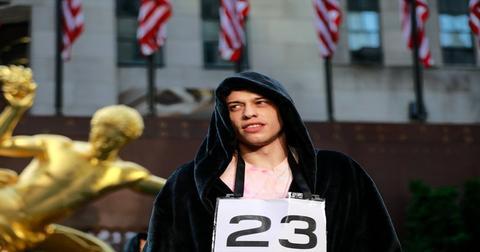 Pete Davidson in a black hoodie