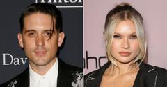 g eazy josie canseco cozy hollywood hills party ashley benson split