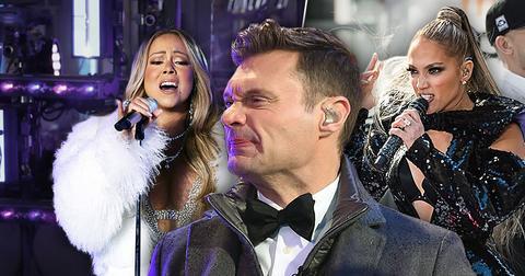 Ryan Seacrest Dumps Mariah Carey For Jennifer Lopez On NYE