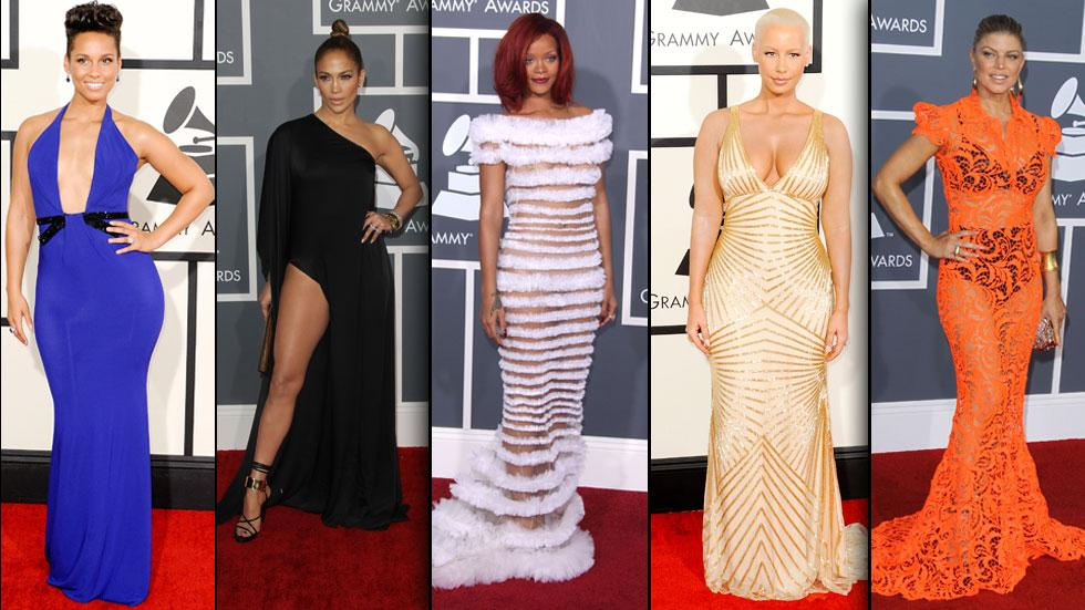 Most naked grammy outfits 2