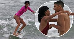 willow smith surfing pda boyfriend vacation