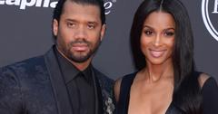 ciara and russell wilson ESPY awards red carpet